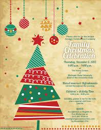 Christmas Cards Invitations Sample Xmas Invitation Card Cogimbo Us