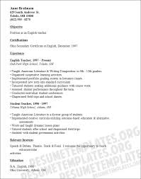 Resume For Interview Sample by 45 Best Teacher Resumes Images On Pinterest Teaching Resume