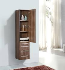 open front storage cabinets aqua decor vance walnut bathroom linen side cabinet w 2 large