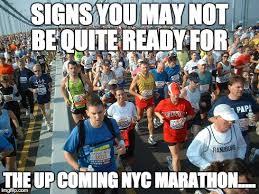 Meme Ny - meme d from the headlines not ready for the ny marathon the