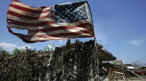 Flag Folding Meaning American Flags Refusing To Fold In The Storm Photos The