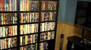 new dvd shelf u0026 movie collection youtube