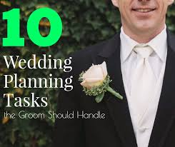 groom wedding 10 wedding planning tasks the groom should handle sweet violet