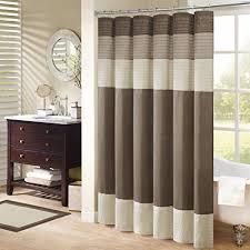 luxury shower curtain amazon com