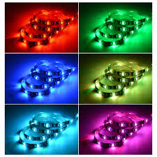 smd led strip light usb power rgb led light 1m 2m 3m 4m 5m 5v 5050 smd led strip light