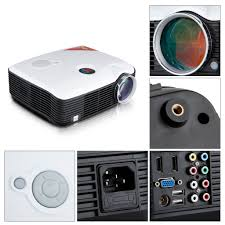 home theater projector 1080p excelvan ph5 2500 lumens led hd 1080p home theater projector av tv