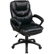 best desk chair on amazon beautiful inspiration leather desk chair amazon com black pu