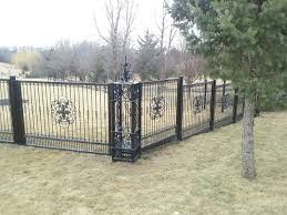 school ornamental iron the american fence company