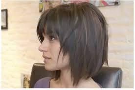 deconstructed bob hairstyle deconstructed diagonal foward bob bobs salons and short hair