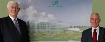 siege credit agricole centre est officialisation du lieu du futur siège social du crédit agricole