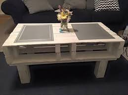 Pallet Coffee Tables Diy White Pallet Coffee Table 20 Diy Pallet Coffee Table Ideas