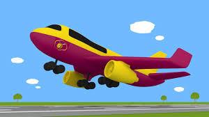 imagenes animadas de aviones huevo sorpresa un avión dibujo animado educatiovo en español
