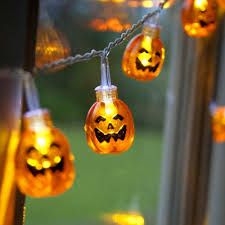 Battery Powered Led Lights Outdoor by Halloween Halloween Led Light Sculpture Lighting