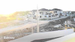 Semi Detached Home Design News New Double Storey Semi Detached House For Sale Miri Youtube