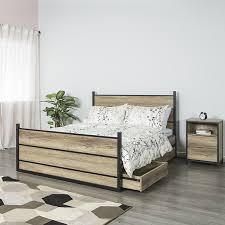 Jysk Storage Ottoman Lulea Canopy Bed Frame Frames Jysk Canada Regarding