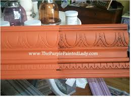 barcelona orange u201d chalk paint by annie sloan with clear wax and