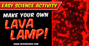how do you make a homemade lava l blobs in a bottle make a lava l at home science bob