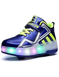 grown up light up shoes amazon com wheeled heel sneakers shoes clothing shoes jewelry