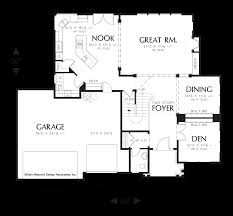 two story house plans with master on main floor mascord house plan 22124c the hayes