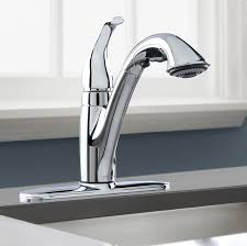 Pulldown Kitchen Faucets Bathroom Woodmere Single Handle Pull Down Moen Faucets With