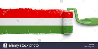 What Do The Flag Colors Mean Paint Roller Mexican Flag Colors Stripes Red Green Isolated On