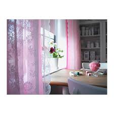 Red Curtains Ikea Alvine Spets Cortinas Red Par Hueso Window Sheer Curtains And