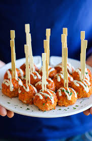slow cooker buffalo chicken meatballs buffalo chicken meatballs