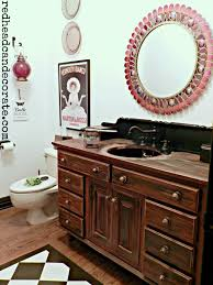 bath the chelsea project powder room vanity makeover using poppies