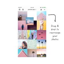 how to make a pastel instagram theme using preview app preview app