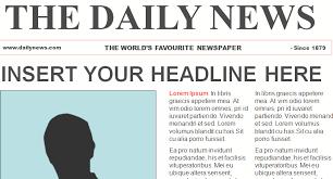 free newspaper template mobawallpaper
