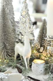 Raz 2013 Forest Friends Decora - winter wonderland tablescape merry christmas tree and christmas