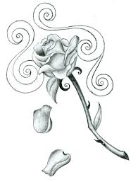 large free printable tattoo designs free download rose tattoo