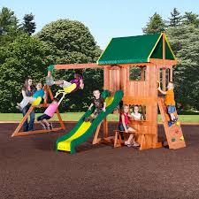 How To Build A Wooden Playset Swing Sets Playsets Kmart