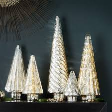 christmas tree toppers garland u0026 tree skirts crate and barrel