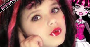 emma shows you to do your costume makeup like draculaura from monster high emma is one of you s youngest makeup gurus at only 8 years old