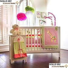 amazon com 10 piece safari zoo jungle baby bedding crib sets