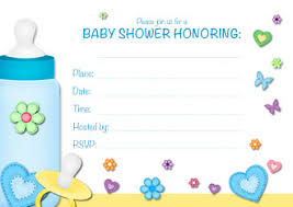sample ideas free printable baby shower invitation cards white