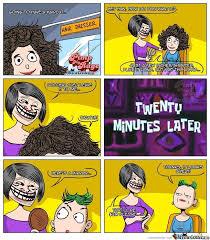 Meme Hairstyles - haircut by pimpmyrage meme center