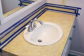 discount bathroom countertops with sink how to do a sturdy stunning granite contact paper countertop