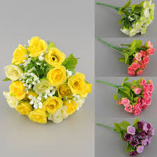 Flower Decorations For Home by Compare Prices On Mini Flower Arrangements Online Shopping Buy