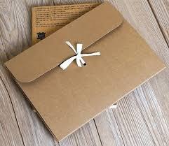 Book Paper Folding - 2017 new year gift idea retro creative kraft paper folding