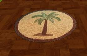 Tree Rugs Second Life Marketplace Round Palm Tree Area Rug Tga Boxed