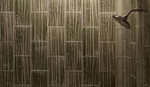 Bathroom Tiled Showers by Living Walls Bamboo Forest Tile