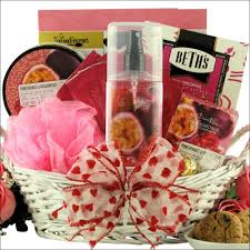 valentines day gift baskets pomegranate passionfruit spa retreat s day gift basket