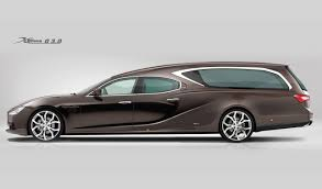 maserati sports car 2016 bizarre maserati ghibli hearse going out with style