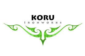 maori koru logo design for