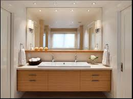 bathroom vanities designs like the ledge between counter sink outlets and mirrored wall