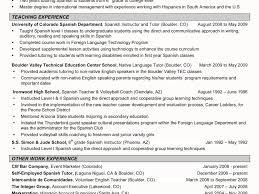 Sample Resume Objectives For Esl Teachers by Resume Targeted Teacher