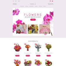 templates para sites de floricultura templatemonster