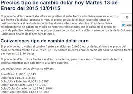 imagenes positivas para hoy martes tipos cambio precios dolar hoy martes 13 de enero 2015 13 01 15